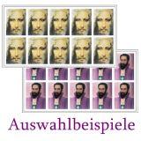 Sticker - Meisterbilder zur freien Auswahl 3,5cm x 2,8cm