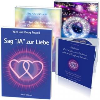 SET: Sag JA zur Liebe, Bände 1-3 + CD